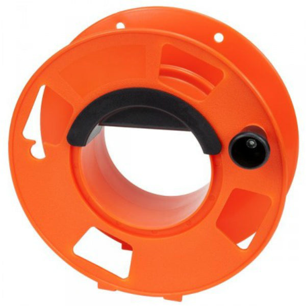 Bayco® KW-110 Cord Storage Reel with Center Spin Handle, Orange