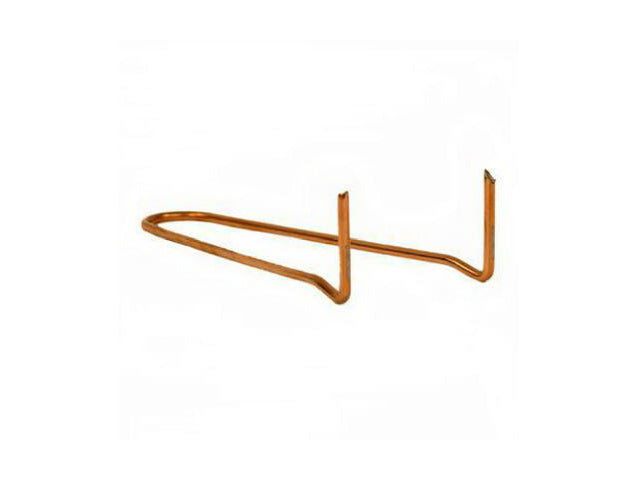 "Harvey 014591 Wire Pipe Hook with Copper Coat, 3/4"" x 6"""