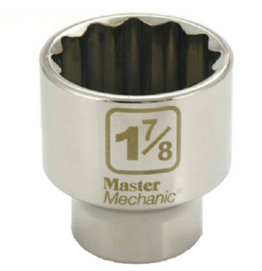 "Master Mechanic 378398 12-Point Socket, 3/4"" Drive, 1-7/8"""