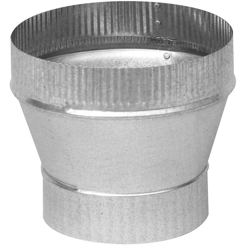 "Imperial GV1361 Galvanized Taper Increaser, 24 Gauge, 7"" x 8"""