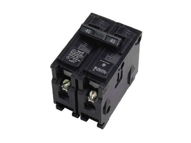 Connecticut Electric VPKICBQ215 Double Pole Interchangeable Circuit Breaker, 15A