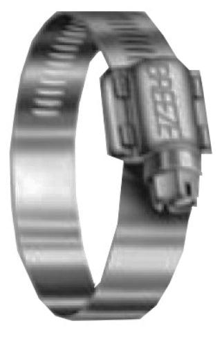 "Breeze 63096 Marine Grade Stainless Steel Clamp, 3-5/8"" - 6-1/2"""