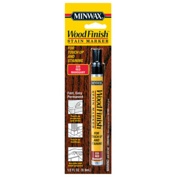 Minwax® 63484 Wood Finish™ Stain Marker, Red Mahogany, 1/3 Oz