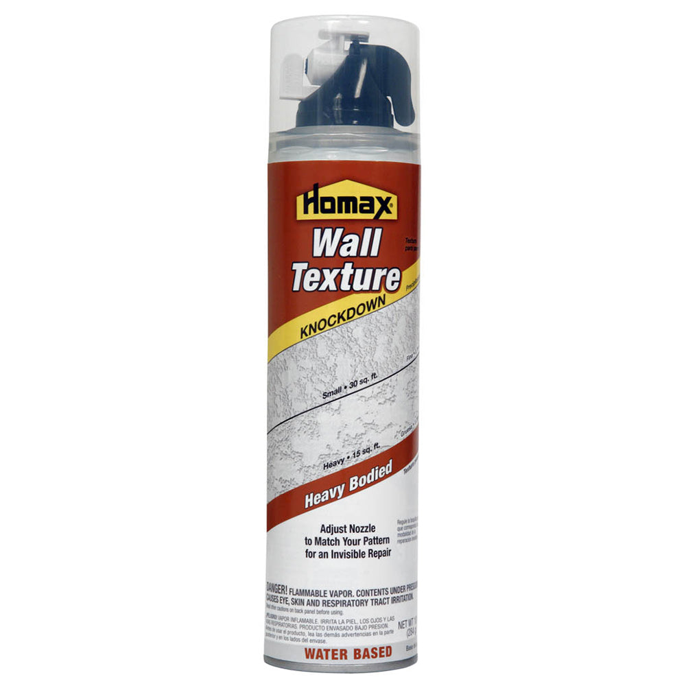 Homax® 4060-06 Aerosol Knockdown Wall Texture, 10 Oz