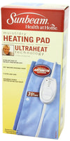 Sunbeam 731-500 Moist/Dry Heating Pad w/Arthritic Controller & UltraHeat Tech