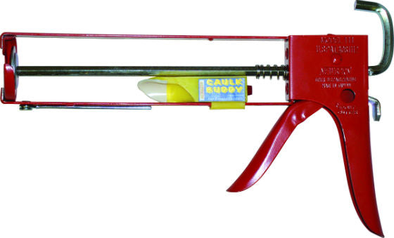 Newborn 111 Parallel Frame Hex Rod Caulk Gun - 1/10 Gallon