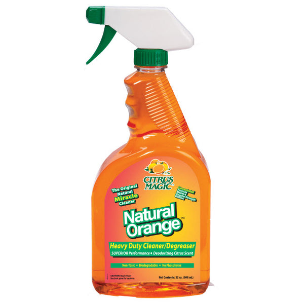 Citrus Magic® 883620035 Natural Orange™ Heavy Duty Cleaner/Degreaser, 32 Oz