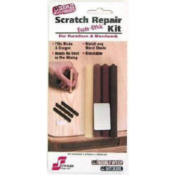 Staples 801 Scratch Repair Kit for Furniture & Woodwork