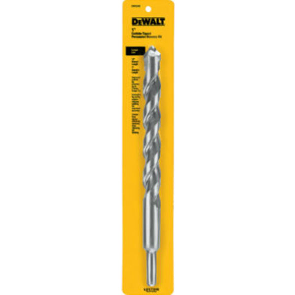 "DeWalt® DW5249 Carbide Tipped Premium Percussion Masonry Drill Bit, 1"" x 12"""