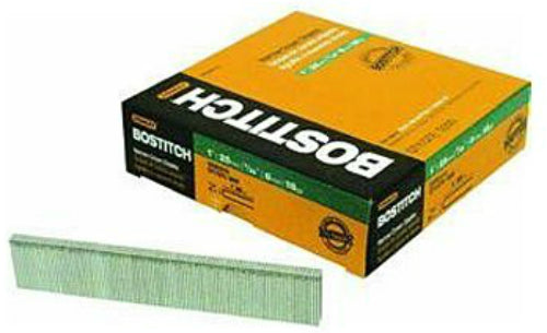 "Bostitch® SX50357/8G Narrow Crown Finish Staples, 7/8"" Leg, 18-Gauge"