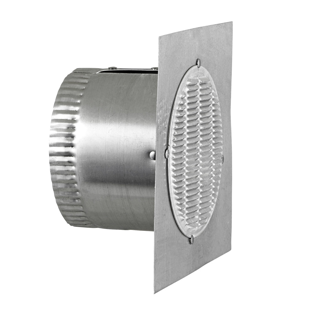 Lambro 141 Aluminum Bathroom Fan Eave Vent, 3""