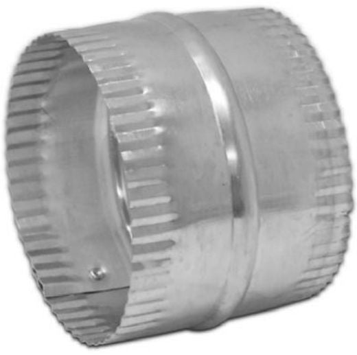 Lambro 246 Aluminum Flexible Duct Connector, 6""