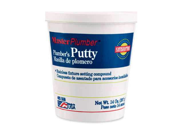 Master Plumber 043015 Long Lasting Plumber's Putty, 14 Oz