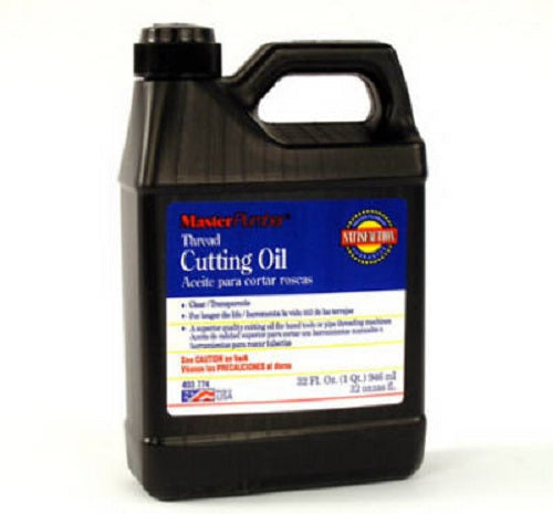 Master Plumber 016110 Thread Cutting Oil, Quart