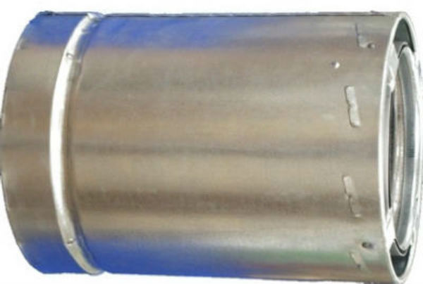 "AirJet™ 6S1 All Fuel Triple Wall Chimney Pipe, 6"" x 1', Class A"