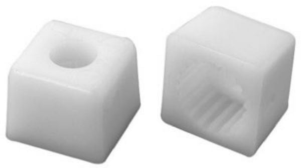 "BrassCraft SHB0027 Plastic Handle Adaptor, 1/2"", 10 Pack"