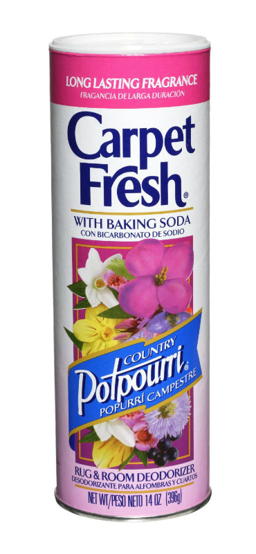 Carpet Fresh 276147 Rug And Room Deoderizer, Potpourri Scent Scent, 14 Oz