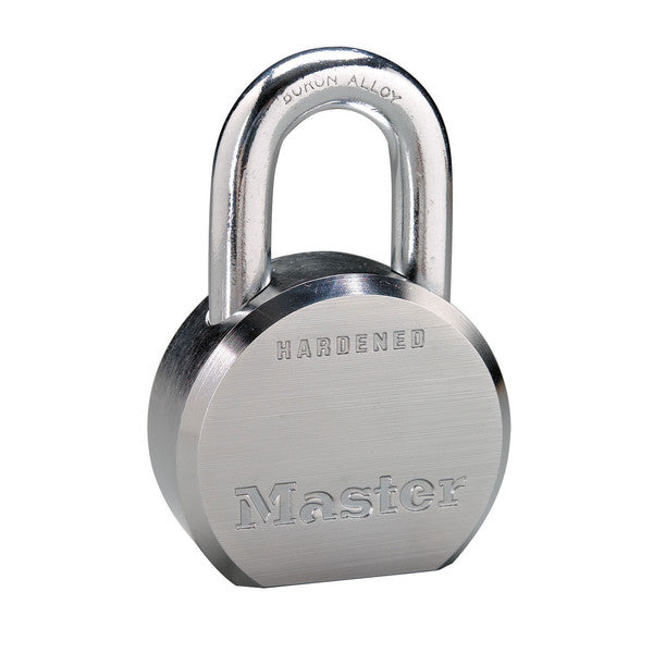 Master Lock 6230KA-10G019 Hardened Steel Body Padlock, 2-1/2""