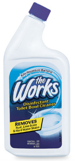 The Works® 33310WK Disinfectant Toilet Bowl Cleaner, 32 Oz