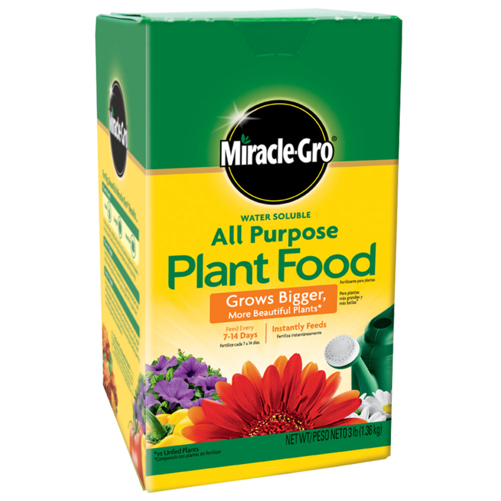 Miracle-Gro® 1001193 Water Soluble All Purpose Plant Food, 24-8-16, 10 Lbs