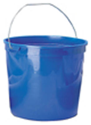 Leaktite 11 Polysteel Rim Pail, 10 Qt, Assorted Colors