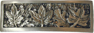 Leaves Cabinet Pull Pewter