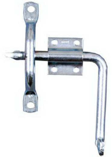 National Hardware® N156-042 Door/Gate Latch with Bar Strike, Zinc Plated