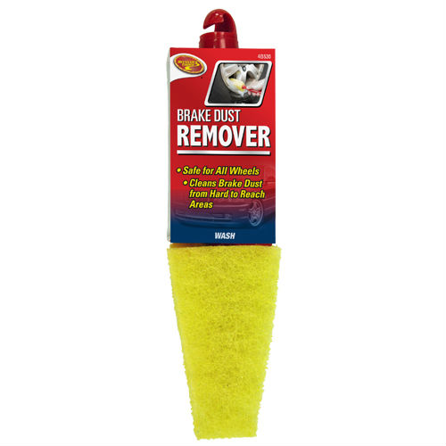 Detailer's Choice® 4B530 Break Dust Remover Brush, Red & Yellow