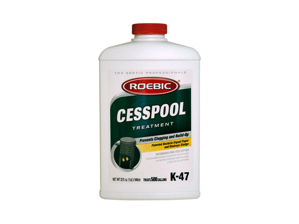 Roebic® K-47-Q-12 Cesspool Treatment, 32 Oz