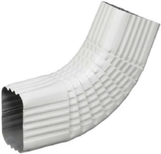 "Amerimax 47265 Aluminum Side B-Elbow, 3"" x 4"", White"