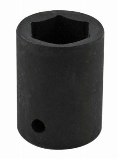 Master Mechanic 39016 6-Point Impact Metric Socket, 18 MM, Chrome Moly