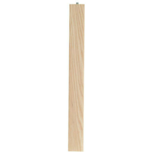 Waddell 2656 Furniture Grade Quality Ash Parsons Table Leg, 6""