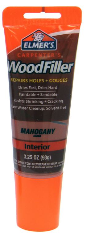 Elmer's E864 Carpenter's® Interior Wood Filler, 3-1/4 Oz, Mahogany