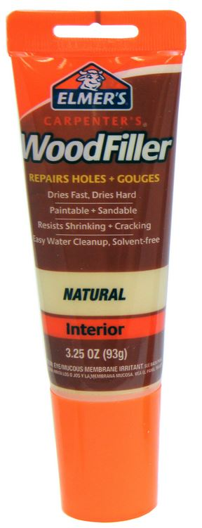 Elmer's E868 Carpenter's® Interior Wood Filler, 3-1/4 Oz, Natural