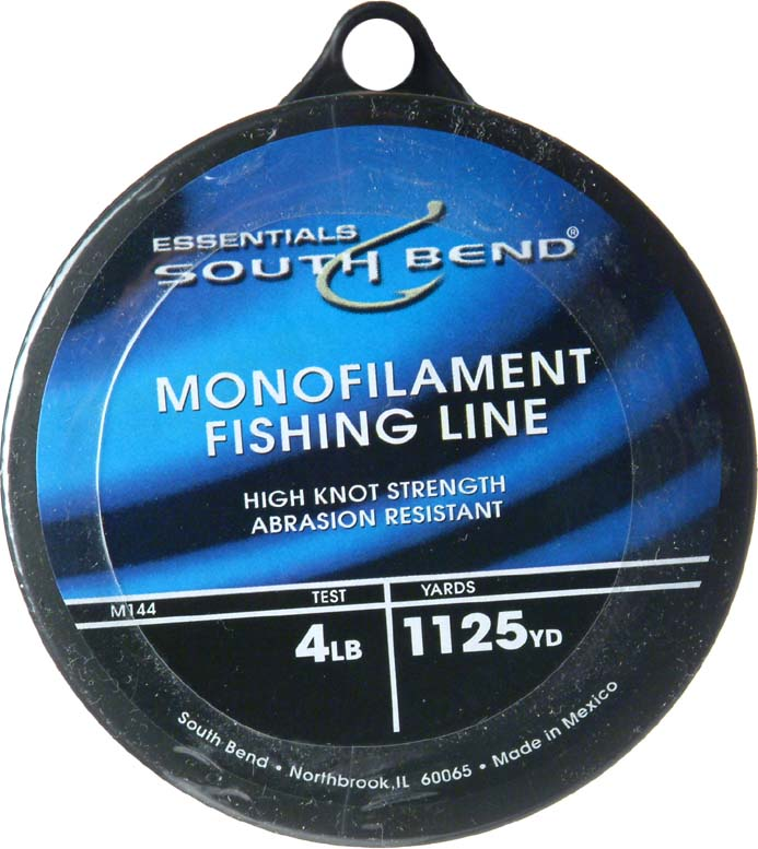 South Bend Monofilament Fishing Line 4 lbs Test 4 Pack 1125 Yards