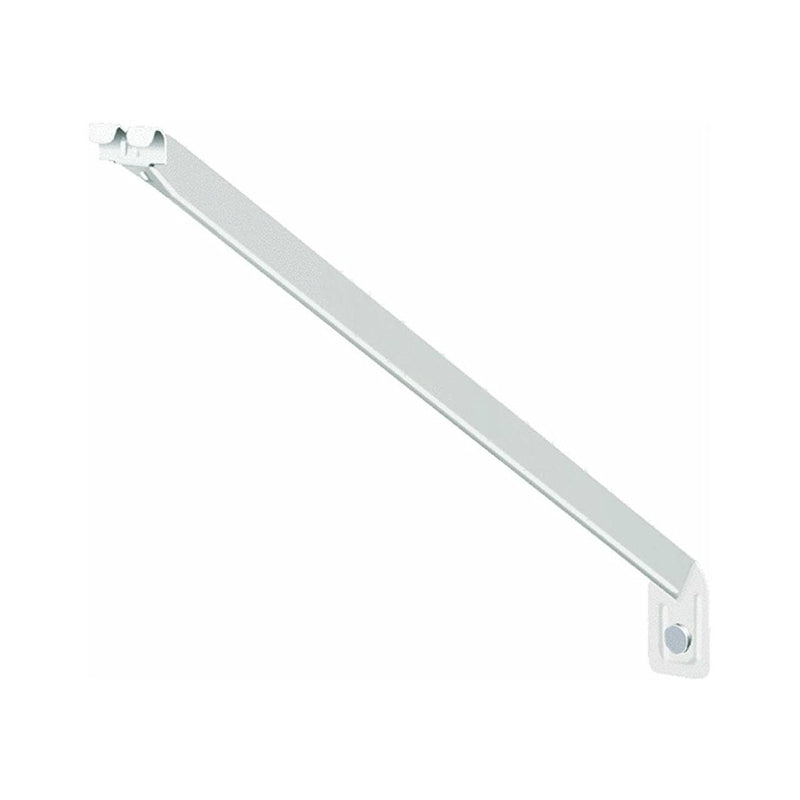 ClosetMaid® 660700 Shelf Support Bracket for Wire Shelving, White, 16""