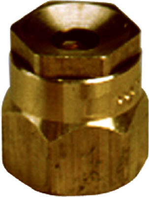 "Champion Irrigation S9H/13002 Half Circle Shrubbery Sprinkler Head, 1.5"", Brass"