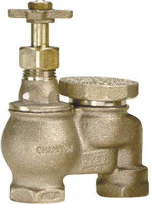 Champion Irrigation 466P-075Y Brass Anti-Siphon Valve without Union, 3/4""