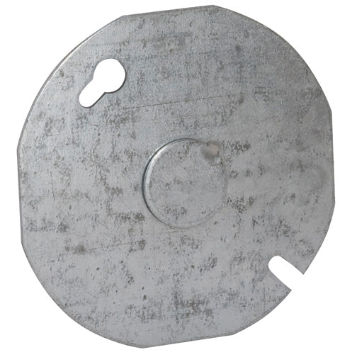 RACO® 703 Round Ceiling Box Cover, 3-1/2""