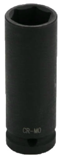 "Master Mechanic 455157 Deep Well Impact Socket, 6-Point, 1/2"" Drive"