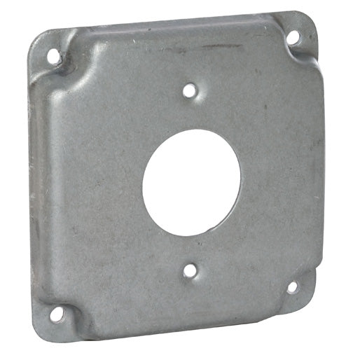 RACO® 801C Square Single Receptacle Box Cover, 4""