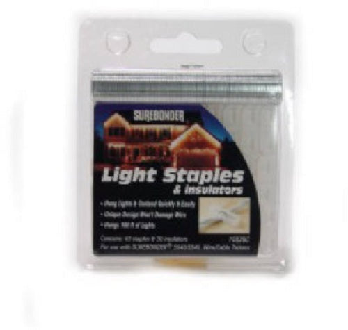 Surebonder® 15030C Holiday Light Staple/Insulator