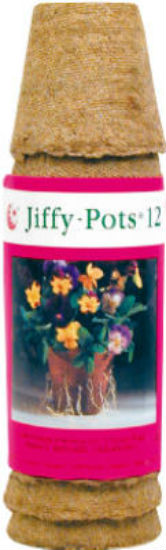 "Jiffy® JP212 Completely Biodegradable Round Pot, 2-1/4"", 12-Pack"