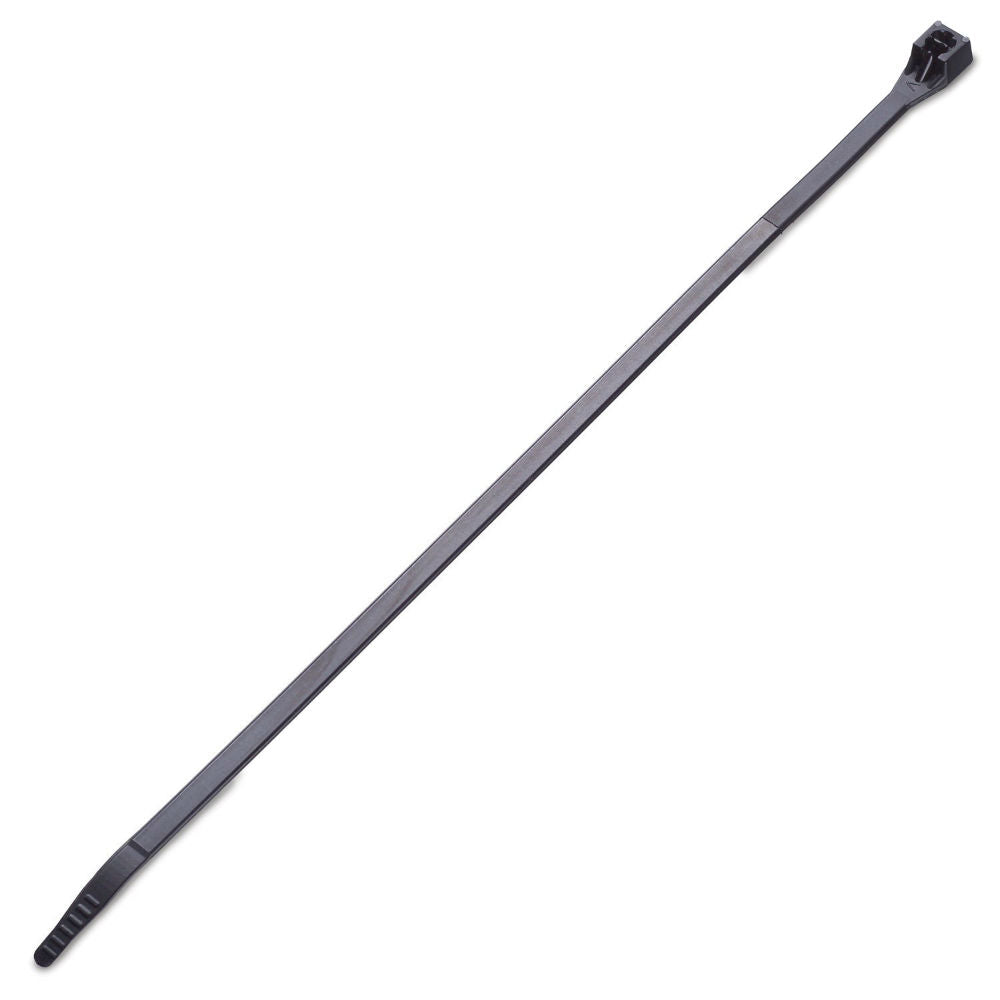 "Gardner Bender 47-127UVB Releasable Cable Tie, 28"", Black"
