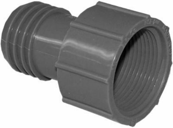 "Genova 350314 Poly Insert Female Adapter, 1-1/4"", Insert x FIP"