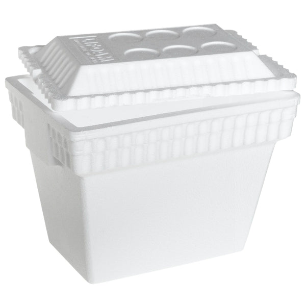 Lifoam™ 3542 Thickwalled Huskee EPS Foam Ice Chest Cooler, 28 Qt