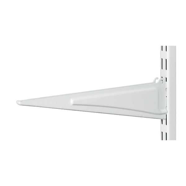 ClosetMaid® 386200 ShelfTrack® Wire Shelving Bracket, White, 10""