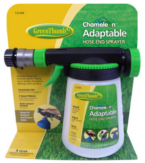 Green Thumb 62140GT Chameleon Adaptable Hose End Sprayer