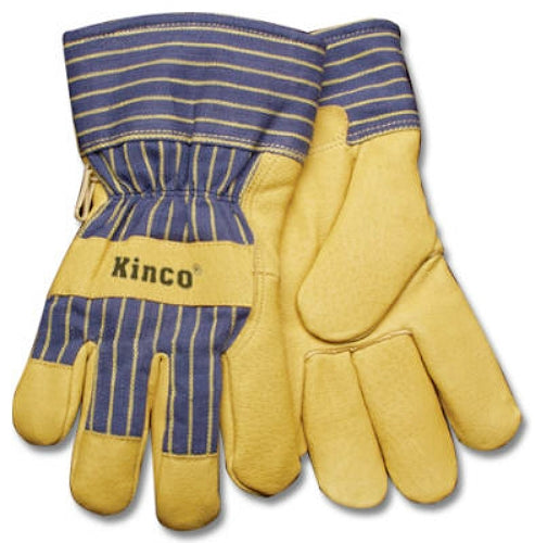 Kinco 1928-M Men's Grain Pigskin Leather Palm Glove, Medium