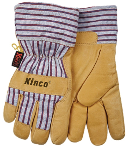 Kinco 1927-XL Men's Premium Grain Pigskin Leather Palm Glove, Extra Large